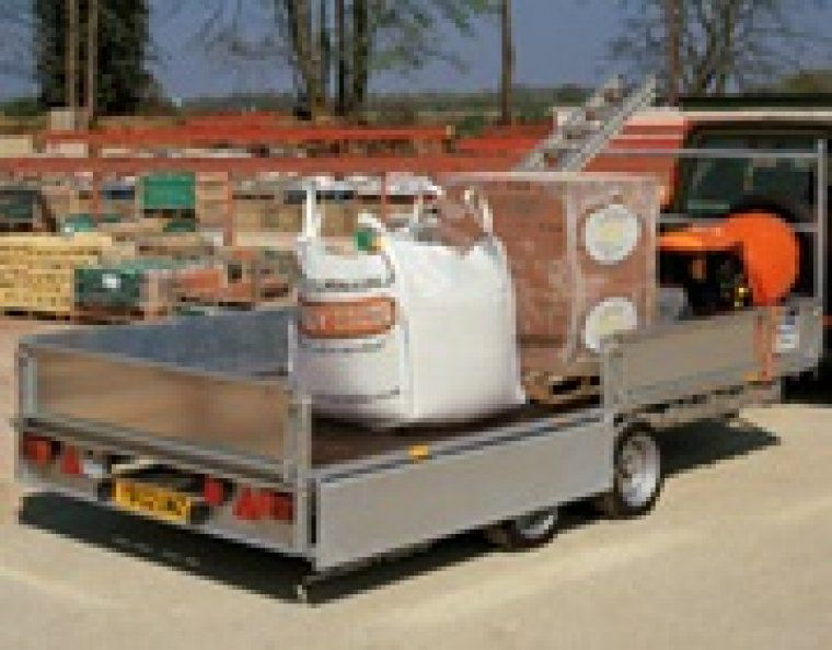 Ifor Williams plateauwagen