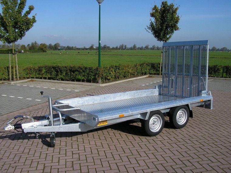 Hapert HV machinetransporter 1